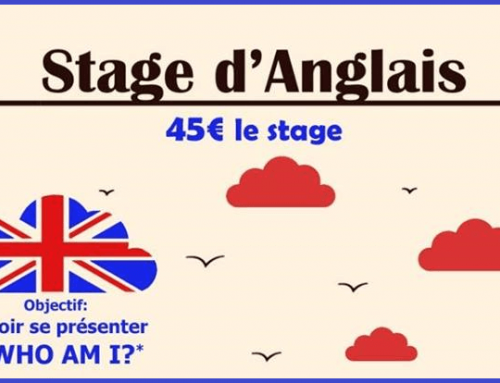 Stage d'Anglais pour les enfants de 7 à 10 ans